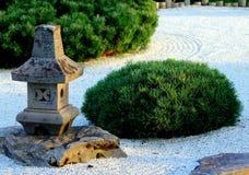 禅宗庭院 库存照片