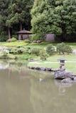 禅宗庭院 免版税库存照片