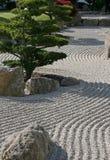 禅宗样式庭院 免版税库存照片