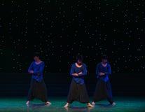 禅宗现代舞蹈的耕种 免版税图库摄影