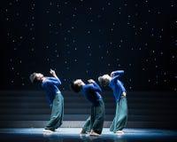 禅宗现代舞蹈的耕种 库存照片