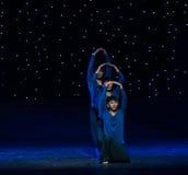 禅宗现代舞蹈的耕种 免版税库存照片