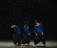 禅宗现代舞蹈的耕种 免版税库存图片