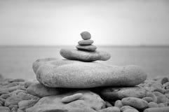 禅宗石头 免版税库存图片