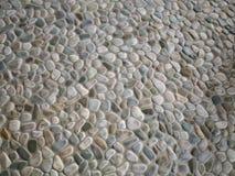 禅宗石头做的肮脏的难看的东西墙壁 免版税库存照片