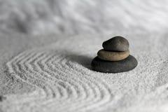 禅宗石头 库存图片