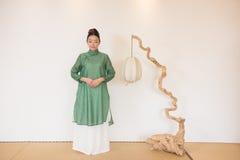 禅宗茶的禅宗凝思这艺术性的构想 库存照片