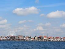 福伦丹,荷兰- 2016年是一个普遍的旅游目的地在北荷兰省 免版税库存图片