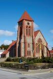 福克兰群岛大教堂 库存照片