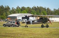 福克战斗机D 运载乘汽车的VII 免版税库存照片