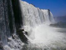 福兹de iguazu小瀑布 免版税库存图片