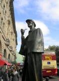 福尔摩斯,雕象,伦敦 免版税图库摄影
