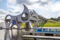 福尔柯克轮子,苏格兰9 免版税库存照片