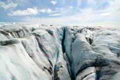 福尔格冰川冰川挪威 免版税库存照片