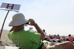 福岛在这里抗议 免版税图库摄影