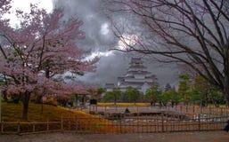 福岛美丽的城堡 免版税库存照片