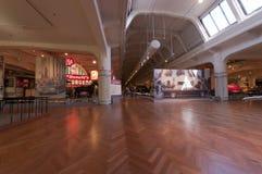 福特博物馆主要大厅  免版税库存图片
