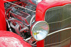 福特定做了引擎 免版税图库摄影