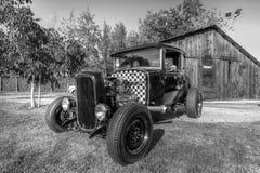 1930年福特小轿车旧车改装的高速马力汽车 图库摄影