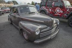 1946年福特小轿车 免版税库存照片