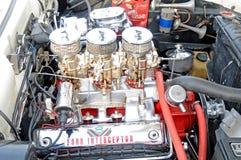 福特拦截机引擎 免版税图库摄影
