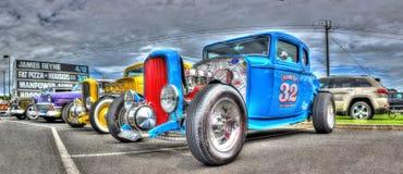 1932年福特旧车改装的高速马力汽车 图库摄影