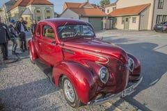 1939年福特标准小轿车街道标尺 免版税库存图片