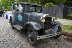 福特模型一个豪华托特轿车 免版税图库摄影