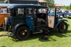 福特模型镇汽车轿车1928-1931 免版税库存照片