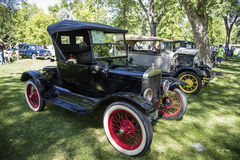 1925年福特模型T跑车古董 库存照片