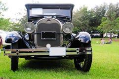 1928年福特汽车正面图  免版税库存图片