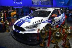 福特焦点CTCC赛车 库存图片