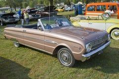 1963年福特猎鹰 库存图片