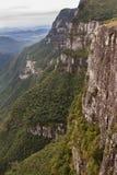 福特莱萨峡谷Aparados da Serra巴西 库存图片