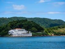 福特莱萨de Santo Amaro da重创的巴拉岛 图库摄影