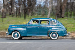 1947年福特超级豪华轿车 免版税库存图片