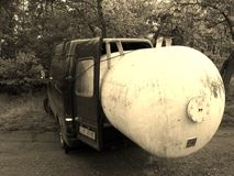 福特运输卡车 免版税库存照片