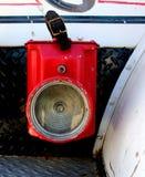 1940年福特霍华德木桶匠消防车灯笼 库存照片