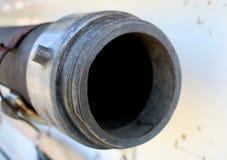 1940年福特霍华德木桶匠消防车水管连接器 库存图片