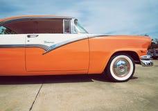 1956年福特维多利亚经典之作汽车 免版税库存照片
