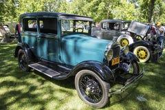 福特1929模型A tudor经典之作汽车 库存图片