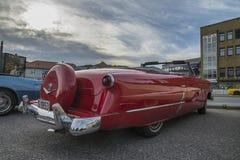1953年福特Crestline Sunliner敞篷车 免版税图库摄影