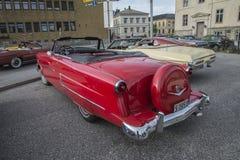1953年福特Crestline Sunliner敞篷车 库存照片