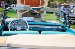 1959年福特Fairlaine敞篷车 库存照片