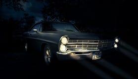福特Galaxie 500 福特Galaxie是福特制造的一辆大型汽车在岁月1959年到1974年在美国 免版税图库摄影