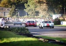 福特GT40赛跑 免版税库存图片