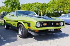 1972年福特Mach1 免版税库存图片