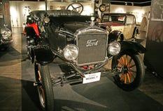 福特T1 1922年 在技术博物馆萨格勒布的商展, 2016年 库存照片