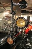 福特T1 1922年 辅助部件,在技术博物馆萨格勒布的商展, 2016年 免版税库存照片