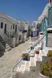 福莱甘兹罗斯岛- Cycklades -希腊 免版税图库摄影